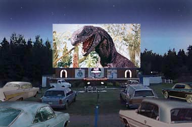 Godzilla on screen
