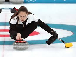 Olivia Jade curling