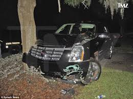 Tiger Woods Cadillac