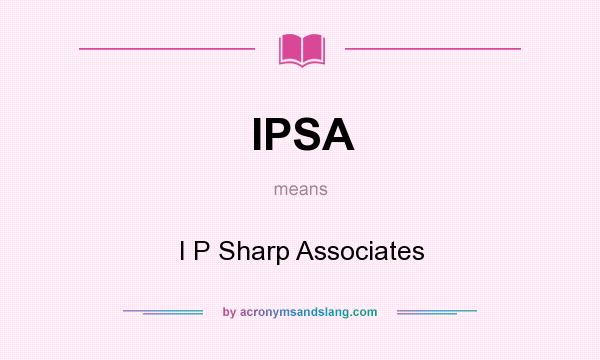 This image has an empty alt attribute; its file name is ipsharp-associates.jpg